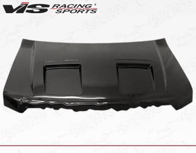 VIS Racing - Carbon Fiber Hood DS Style for Ford F150 2DR & 4DR 09-14 - Image 2