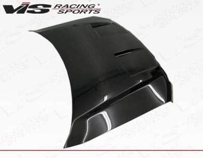 VIS Racing - Carbon Fiber Hood DS Style for Ford F150 2DR & 4DR 09-14 - Image 3