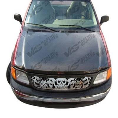 VIS Racing - Carbon Fiber Hood OEM Style for Ford F150 2DR & 4DR 04-08 - Image 2