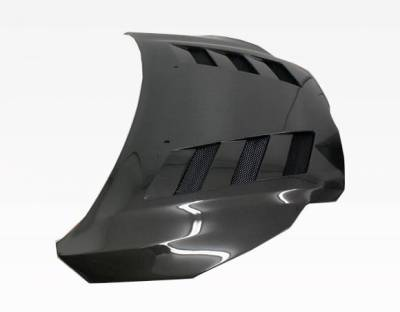 VIS Racing - Carbon Fiber Hood AMS Style for Ford Focus 2DR & 4DR 12-14 - Image 4