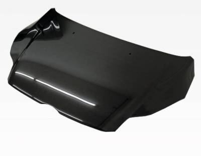 VIS Racing - Carbon Fiber Hood OEM Style for Ford Focus 2DR & 4DR 12-14 - Image 2