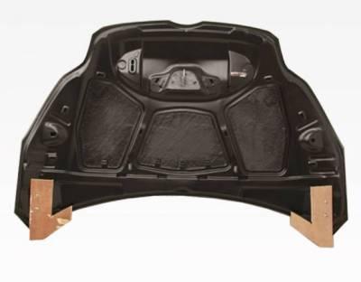 VIS Racing - Carbon Fiber Hood OEM Style for Ford Focus 2DR & 4DR 12-14 - Image 4