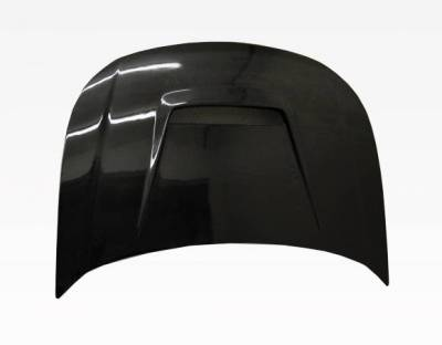 VIS Racing - Carbon Fiber Hood Invader Style for Ford Focus 2DR & 4DR 08-11 - Image 1