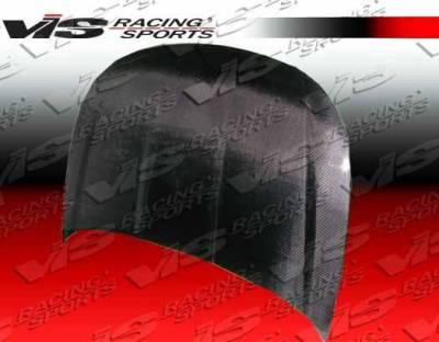VIS Racing - Carbon Fiber Hood OEM Style for Ford Focus 2DR & 4DR 08-11 - Image 1