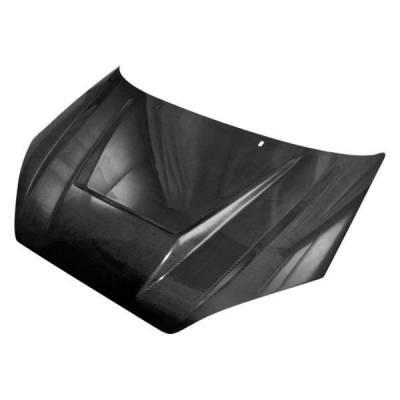 VIS Racing - Carbon Fiber Hood Invader Style for Ford Focus 2DR & 4DR 00-04 - Image 1