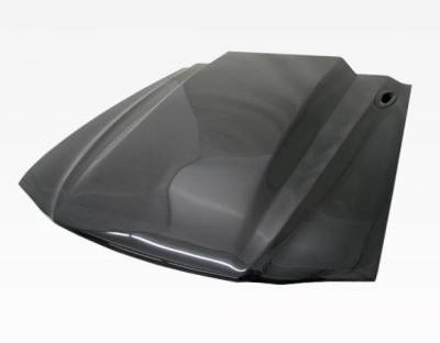 VIS Racing - Carbon Fiber Hood Cowl Induction Style for Ford MUSTANG 2DR 94-98 - Image 2
