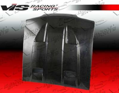 VIS Racing - Carbon Fiber Hood Mach 5 Style for Ford MUSTANG 2DR 94-98 - Image 2