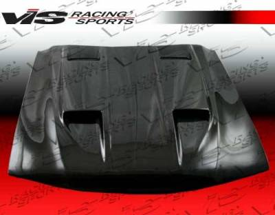 VIS Racing - Carbon Fiber Hood Mach 5 Style for Ford MUSTANG 2DR 94-98 - Image 3
