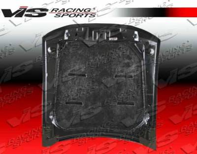 VIS Racing - Carbon Fiber Hood Mach 5 Style for Ford MUSTANG 2DR 94-98 - Image 4