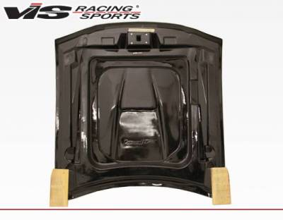 VIS Racing - Carbon Fiber Hood SS Style for Ford MUSTANG 2DR 94-98 - Image 3