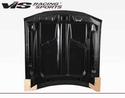 VIS Racing - Carbon Fiber Hood Stalker 2 Style for Ford MUSTANG 2DR 94-98 - Image 4