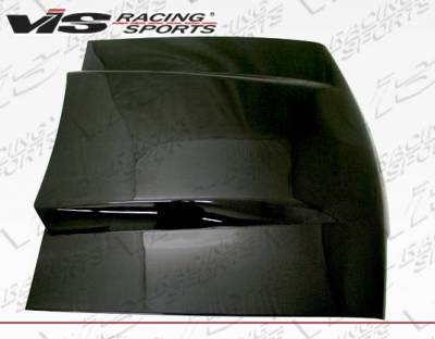 VIS Racing - Carbon Fiber Hood Cowl Induction Style for Ford MUSTANG 2DR 87-93 - Image 2