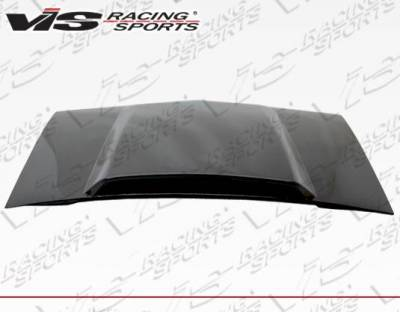 VIS Racing - Carbon Fiber Hood Cowl Induction Style for Ford MUSTANG 2DR 87-93 - Image 3