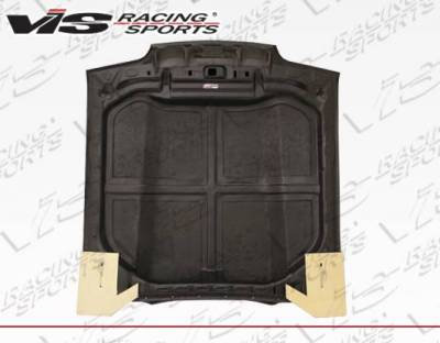 VIS Racing - Carbon Fiber Hood Cowl Induction Style for Ford MUSTANG 2DR 87-93 - Image 4