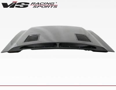 VIS Racing - Carbon Fiber Hood GT 500 Style for Ford MUSTANG 2DR 87-93 - Image 2