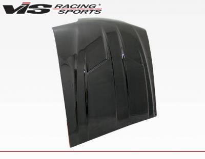 VIS Racing - Carbon Fiber Hood Stalker 2 Style for Ford MUSTANG 2DR 87-93 - Image 2