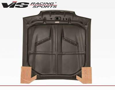 VIS Racing - Carbon Fiber Hood Stalker 2 Style for Ford MUSTANG 2DR 87-93 - Image 3