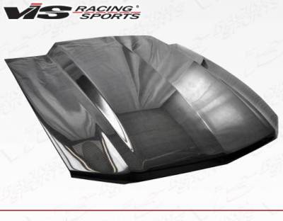 VIS Racing - Carbon Fiber Hood Cowl Induction Style for Ford MUSTANG 2DR 10-12 - Image 1