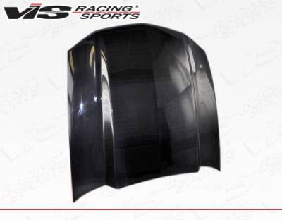 VIS Racing - Carbon Fiber Hood Cowl Induction Style for Ford MUSTANG 2DR 10-12 - Image 2