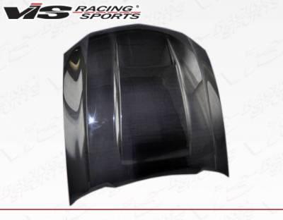 VIS Racing - Carbon Fiber Hood Stalker Style for Ford MUSTANG 2DR 10-12 - Image 3