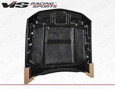VIS Racing - Carbon Fiber Hood Stalker Style for Ford MUSTANG 2DR 10-12 - Image 4