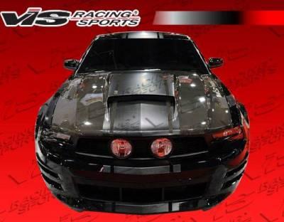 VIS Racing - Carbon Fiber Hood Stalker Style for Ford MUSTANG 2DR 10-12 - Image 5