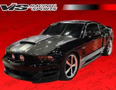 VIS Racing - Carbon Fiber Hood Stalker Style for Ford MUSTANG 2DR 10-12 - Image 7