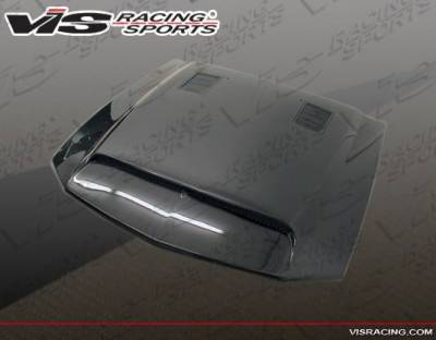 VIS Racing - Carbon Fiber Hood GT 500 Style for Ford MUSTANG 2DR 05-09 - Image 4