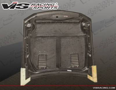 VIS Racing - Carbon Fiber Hood GT 500 Style for Ford MUSTANG 2DR 05-09 - Image 7