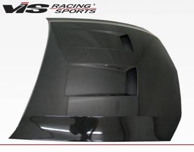 VIS Racing - Carbon Fiber Hood Heat Extractor Style for Ford MUSTANG 2DR 05-09 - Image 3