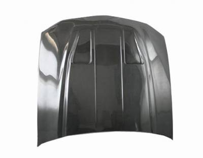 VIS Racing - Carbon Fiber Hood Mach 1 Style for Ford MUSTANG 2DR 05-09 - Image 1