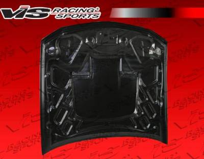 VIS Racing - Carbon Fiber Hood Mach 1 Style for Ford MUSTANG 2DR 05-09 - Image 4