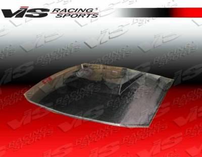 VIS Racing - Carbon Fiber Hood Stalker 3 Style for Ford MUSTANG 2DR 05-09 - Image 3