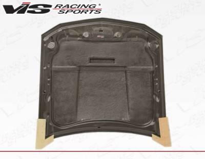 VIS Racing - Carbon Fiber Hood Stalker X Style for Ford MUSTANG 2DR 05-09 - Image 3