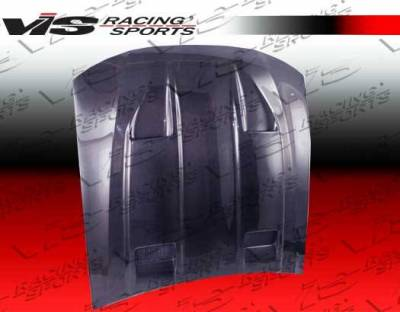 VIS Racing - Carbon Fiber Hood Mach 5 Style for Ford MUSTANG 2DR 99-04 - Image 3