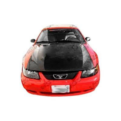 VIS Racing - Carbon Fiber Hood OEM Style for Ford MUSTANG 2DR 99-04 - Image 2