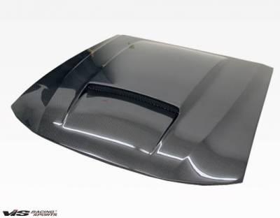 VIS Racing - Carbon Fiber Hood Stalker X Style for Ford MUSTANG 2DR 99-04 - Image 3