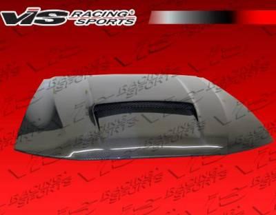 VIS Racing - Carbon Fiber Hood Stalker X Style for Ford MUSTANG 2DR 99-04 - Image 4