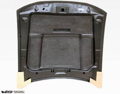 VIS Racing - Carbon Fiber Hood Stalker X Style for Ford MUSTANG 2DR 99-04 - Image 5