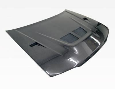 VIS Racing - Carbon Fiber Hood EVO Style for Honda Accord 2DR & 4DR 90-93 - Image 1