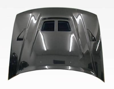 VIS Racing - Carbon Fiber Hood EVO Style for Honda Accord 2DR & 4DR 90-93 - Image 3