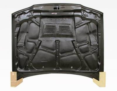VIS Racing - Carbon Fiber Hood EVO Style for Honda Accord 2DR & 4DR 90-93 - Image 4