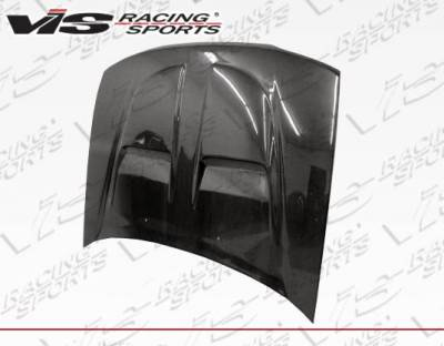 VIS Racing - Carbon Fiber Hood Xtreme GT Style for Honda Accord 2DR & 4DR 90-93 - Image 3