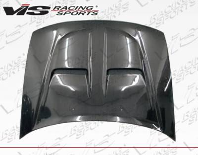 VIS Racing - Carbon Fiber Hood Xtreme GT Style for Honda Accord 2DR & 4DR 90-93 - Image 4