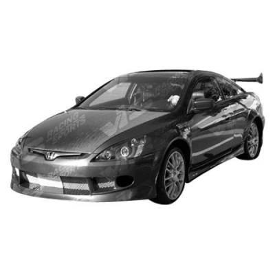 VIS Racing - Carbon Fiber Hood OEM Style for Honda Accord 2DR 03-07 - Image 2