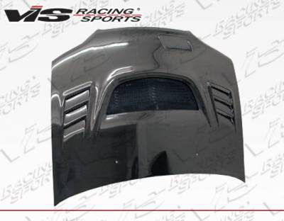 VIS Racing - Carbon Fiber Hood G Speed Style for Honda Accord 4DR 98-02 - Image 2