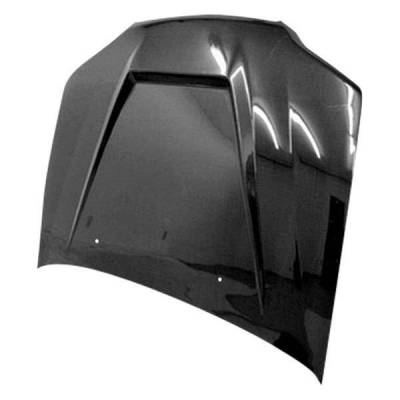 VIS Racing - Carbon Fiber Hood Invader Style for Honda Accord 2DR 98-02 - Image 1