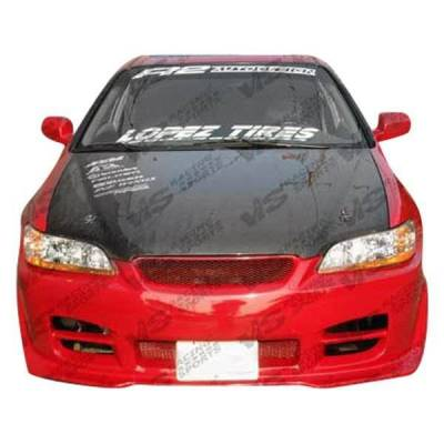 VIS Racing - Carbon Fiber Hood OEM Style for Honda Accord 2DR 98-02 - Image 2