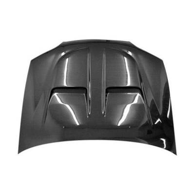 VIS Racing - Carbon Fiber Hood Xtreme GT Style for Honda Accord 2DR 98-02 - Image 1