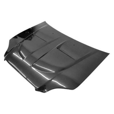 VIS Racing - Carbon Fiber Hood Xtreme GT Style for Honda Civic 2DR & 4DR 96-98 - Image 1